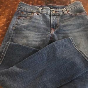 Luck Brand Jeans Size 2 EUC Straight Cropped